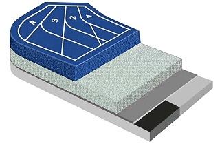 EPDM塑胶跑道材料