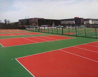 WPPU水性排球场材料