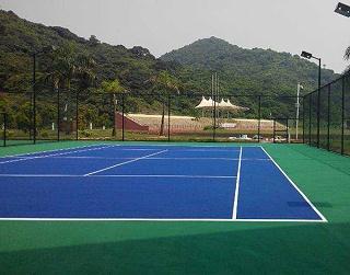 丙烯酸网球场材料