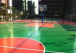 新国标硅PU球场材料的防水性能发挥重要作用!【德朝体育】