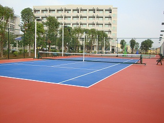 WPPU水性网球场